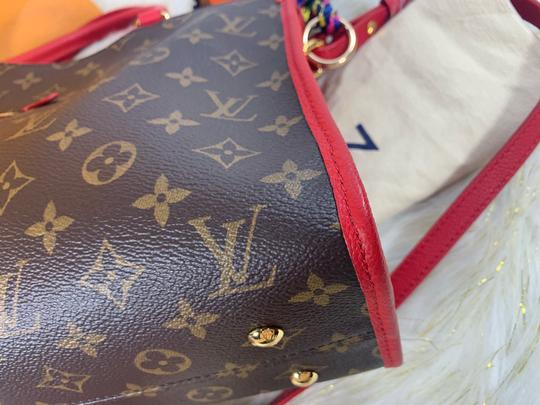 Louis Vuitton Satchel in brown red Image 7