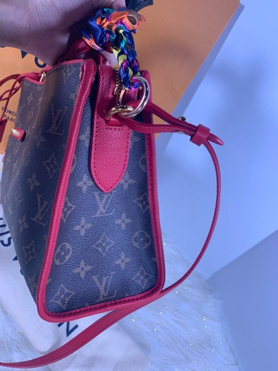 Louis Vuitton Satchel in brown red Image 9