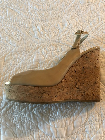 Jimmy Choo nude Wedges Image 2