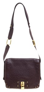 Marc Jacobs Leather Canvas Cross Body Bag
