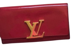 Louis Vuitton Louis Vuitton Patent Leather logo Wallet/Clutch
