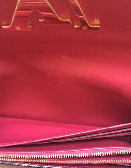 Louis Vuitton Louis Vuitton Patent Leather logo Wallet/Clutch Image 10