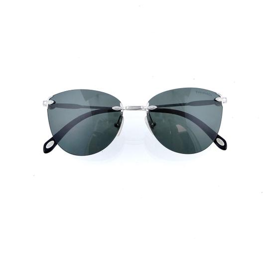 Tiffany & Co. TF3042-H 6001/3H Rimless Aviator 55mm Sunglasses Image 6