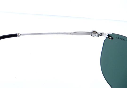 Tiffany & Co. TF3042-H 6001/3H Rimless Aviator 55mm Sunglasses Image 8