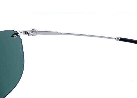 Tiffany & Co. TF3042-H 6001/3H Rimless Aviator 55mm Sunglasses Image 9