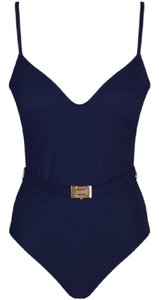 Tory Burch TORY BURCH Belted NAVY Swimsuit-Size S/P