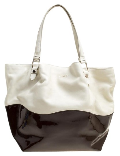Preload https://img-static.tradesy.com/item/25576735/tod-s-flower-whitebrown-leather-and-patent-leather-medium-white-satin-tote-0-1-540-540.jpg
