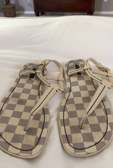 Louis Vuitton Ivory Sandals Image 1