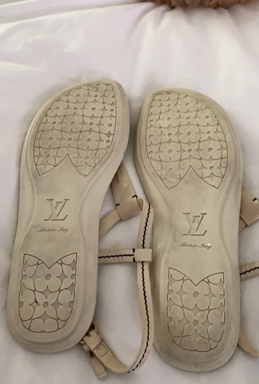 Louis Vuitton Ivory Sandals Image 3