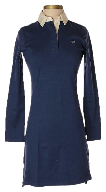 Preload https://img-static.tradesy.com/item/25576749/vineyard-vines-blue-xs-navy-long-sleeve-polo-collared-short-casual-dress-size-2-xs-0-1-650-650.jpg