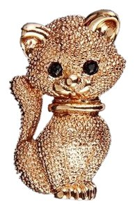 Other Lovely Gold tone Kitty Brooch/Pin