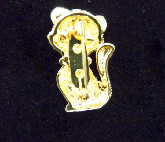 Other Lovely Gold tone Kitty Brooch/Pin Image 5