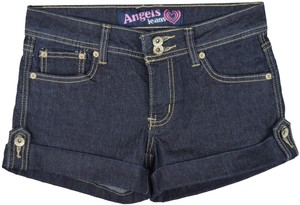 Angels Jeans Denim Casual Cuffed Shorts