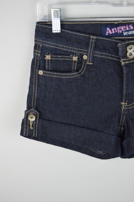 Angels Jeans Denim Casual Cuffed Shorts Image 1