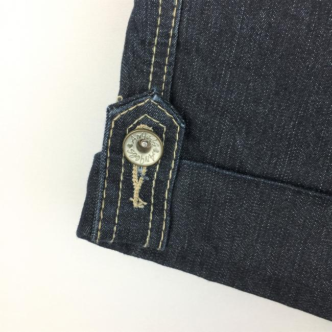 Angels Jeans Denim Casual Cuffed Shorts Image 2