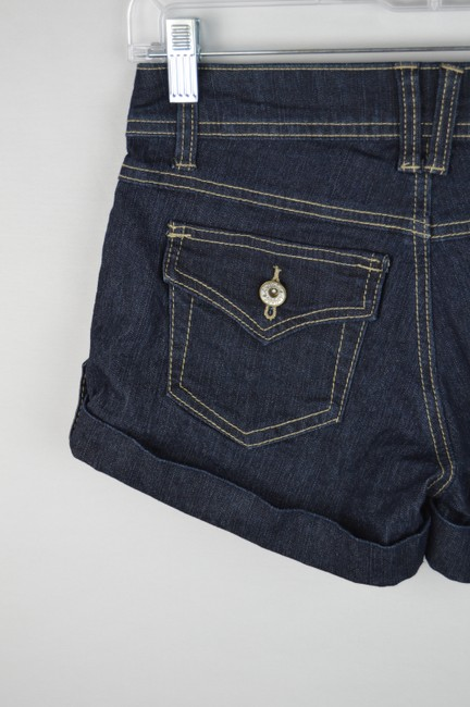 Angels Jeans Denim Casual Cuffed Shorts Image 6