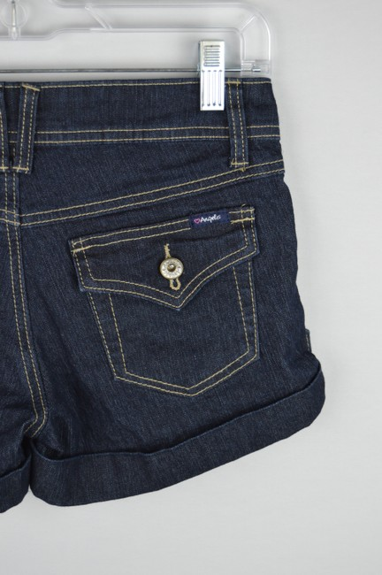 Angels Jeans Denim Casual Cuffed Shorts Image 7