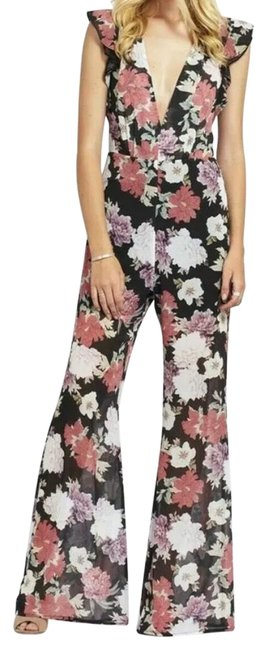 Preload https://img-static.tradesy.com/item/25576768/free-people-black-with-multi-colored-flowers-x-we-are-kindred-chrysanthemum-romperjumpsuit-0-1-650-650.jpg