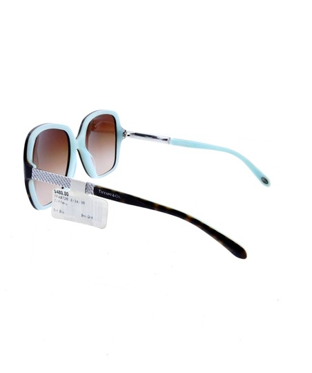 Tiffany & Co. TF4072-B 8134/3B Crystal Squared Butterfly Sunglasses 57mm Image 2