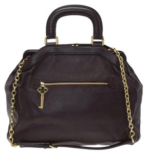 Dolce&Gabbana Leather Tote in Brown