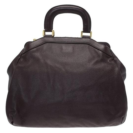Dolce&Gabbana Leather Tote in Brown Image 1