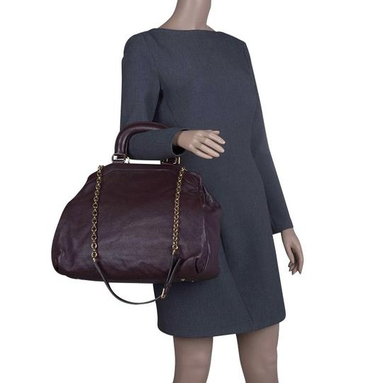 Dolce&Gabbana Leather Tote in Brown Image 2
