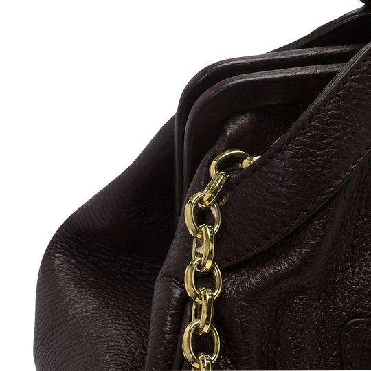Dolce&Gabbana Leather Tote in Brown Image 5