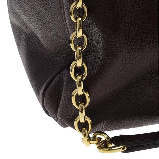 Dolce&Gabbana Leather Tote in Brown Image 6