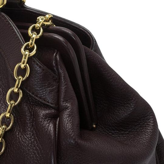 Dolce&Gabbana Leather Tote in Brown Image 7