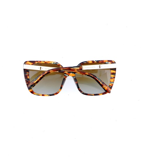 Tiffany & Co. TF4074-B 8114/T5 Squared Butterfly Sunglasses 56mm Image 7