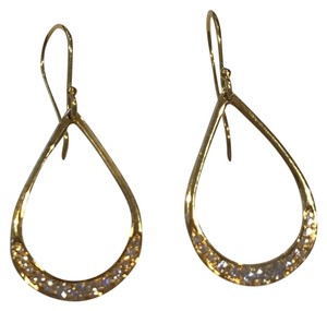 Ippolita Ippolita 18KT Yellow Gold Stardust Teardrop Diamond Earrings