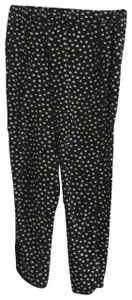Marabelle Relaxed Pants black and white