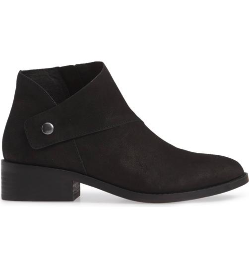 Eileen Fisher Suede Ankle Black Nubuck Boots Image 1