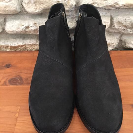 Eileen Fisher Suede Ankle Black Nubuck Boots Image 5