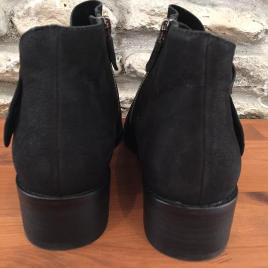 Eileen Fisher Suede Ankle Black Nubuck Boots Image 6