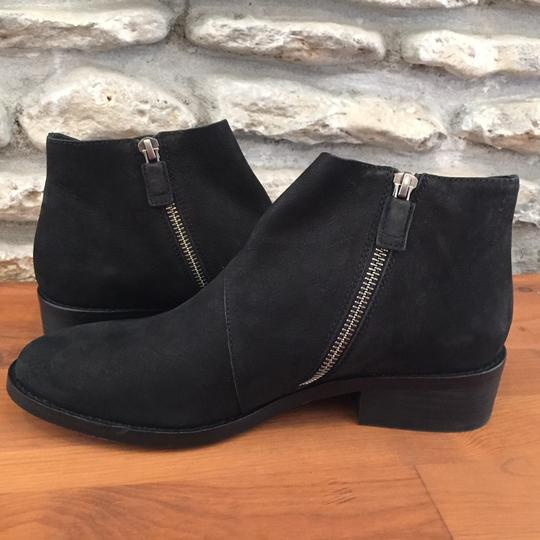 Eileen Fisher Suede Ankle Black Nubuck Boots Image 7
