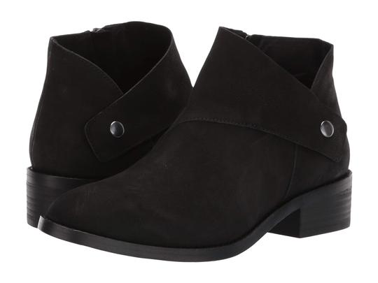 Eileen Fisher Suede Ankle Black Nubuck Boots Image 9