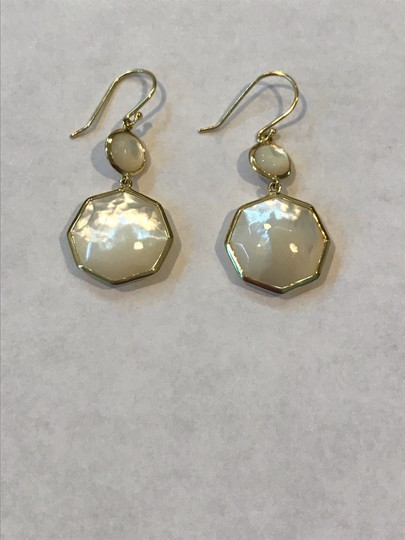 Ippolita Ippolita 18KT Yellow Gold Octagon Mobey Pearl Rock Candy Drop Earrings Image 1