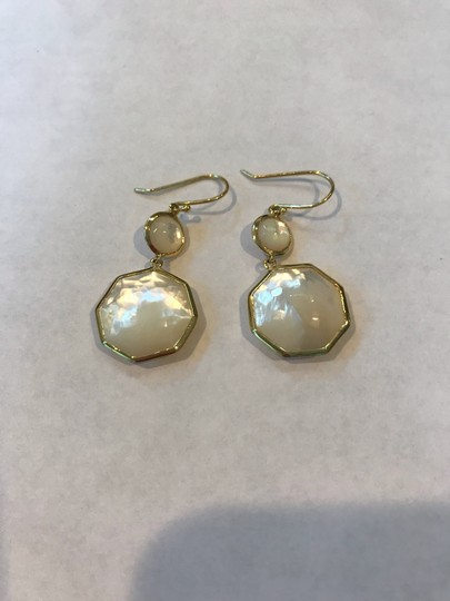 Ippolita Ippolita 18KT Yellow Gold Octagon Mobey Pearl Rock Candy Drop Earrings Image 2