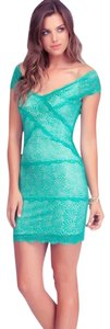 turquoise Maxi Dress by bebe
