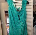 turquoise Maxi Dress by bebe Image 2