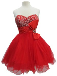 Rachel Allan Party Time Short Prom Homecoming Dress