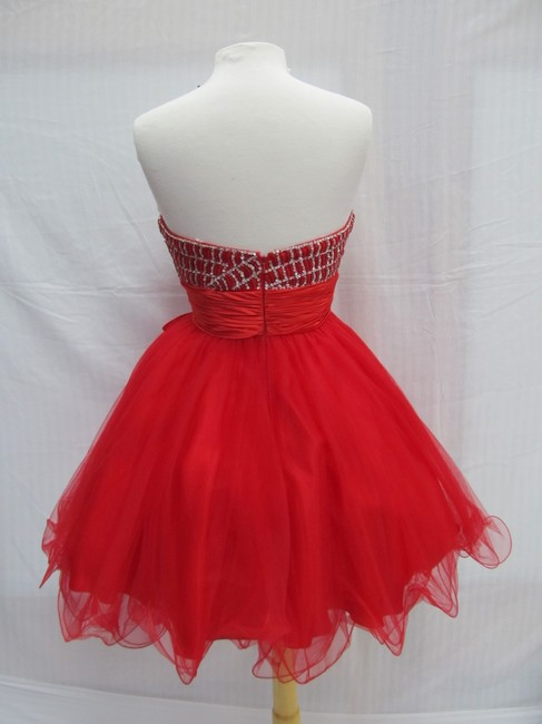 Rachel Allan Party Time Short Prom Homecoming Dress Image 1