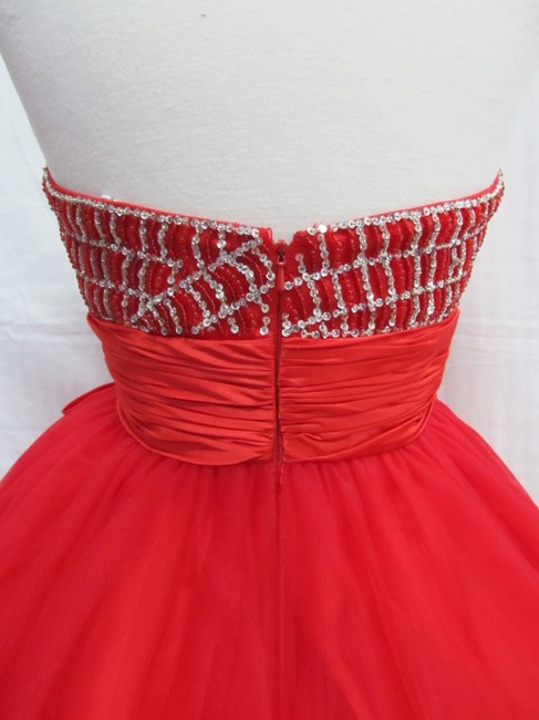 Rachel Allan Party Time Short Prom Homecoming Dress Image 2