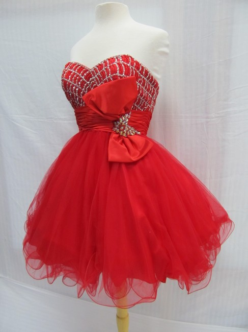 Rachel Allan Party Time Short Prom Homecoming Dress Image 3