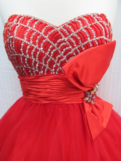 Rachel Allan Party Time Short Prom Homecoming Dress Image 4