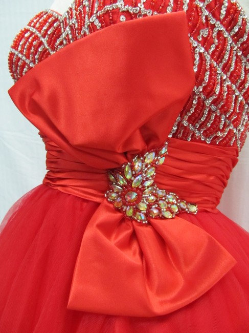 Rachel Allan Party Time Short Prom Homecoming Dress Image 6