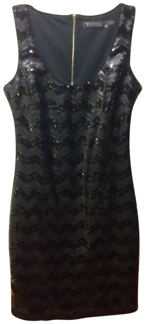 Preload https://img-static.tradesy.com/item/25577151/guess-black-shiny-embellished-sequins-sleeveless-summer-party-mid-length-night-out-dress-size-6-s-0-1-650-650.jpg