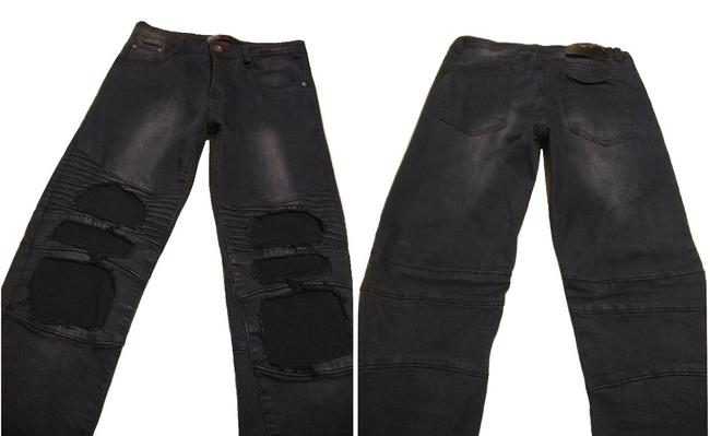 Dcoy Steampunk Rave Hottopic Morbid Threads Heavy Metal Skinny Jeans Image 1