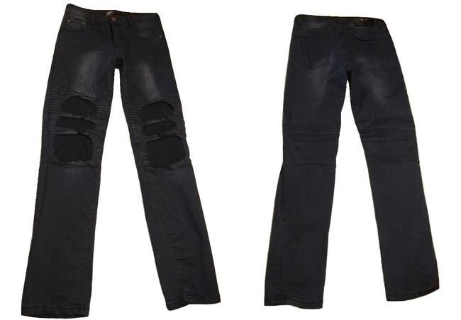 Dcoy Steampunk Rave Hottopic Morbid Threads Heavy Metal Skinny Jeans Image 2